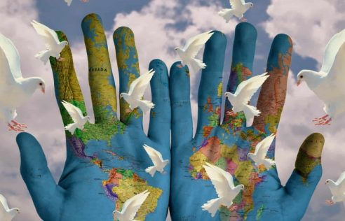 What are the steps to global peace?